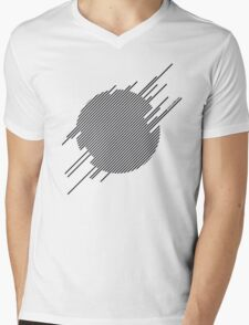 ABshapes in a disc  Mens V-Neck T-Shirt