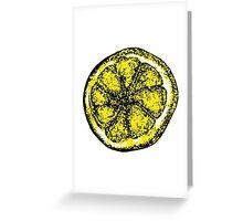 The Stone Roses lemon (Big) Greeting Card