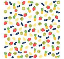 Fruit Pattern Photographic Print