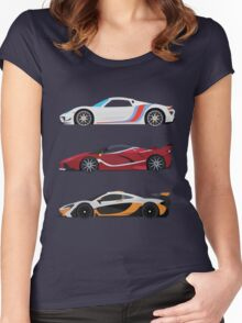 Hybrid Trinity R. Version Women's Fitted Scoop T-Shirt