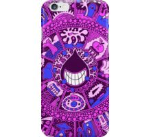 The Drop in Purple and Blue iPhone Case/Skin