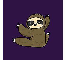 Climbing Sloth Photographic Print