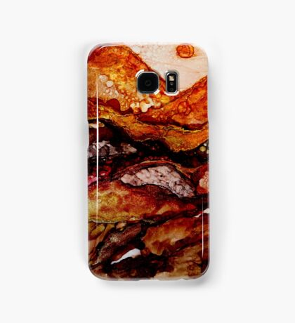 """Molten Mountains"" Colorful Unique Original Artist's Design!  Samsung Galaxy Case/Skin"