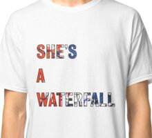 She's A Waterfall - The Stone Roses Classic T-Shirt