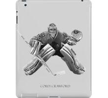 Corey Crawford iPad Case/Skin