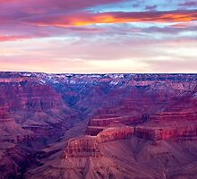 Sunrise Over The Canyon by Tina Hailey