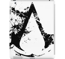 Splatter Paint Assassins Creed Logo iPad Case/Skin