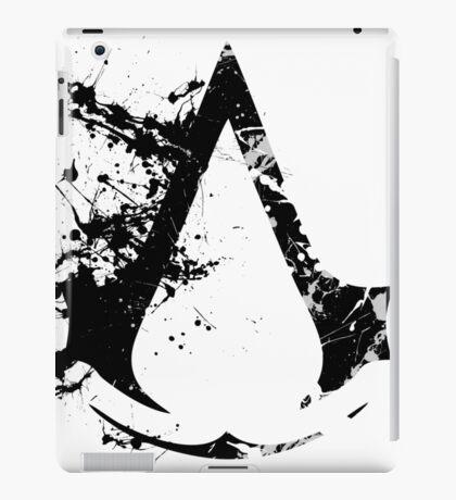 Splatter Paint Assassins Creed Logo iPad Case/Skin