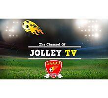 JolleyTV poster design Photographic Print