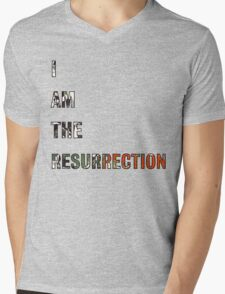 I Am The Resurrection - The Stone Roses Mens V-Neck T-Shirt