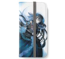 Skull & Butterflies (Pandora Hearts Manga) iPhone Wallet/Case/Skin