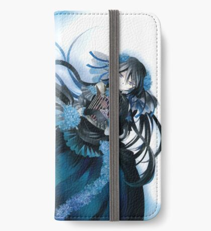 Skull & Butterflies (Pandora Hearts Manga) iPhone Wallet/Case/Skin