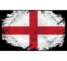 England vintage flag Photographic Print