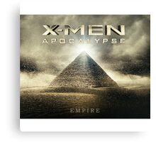 X Men Apocalypse Canvas Print