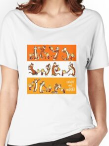 Calvin and hobbes all character Women's Relaxed Fit T-Shirt