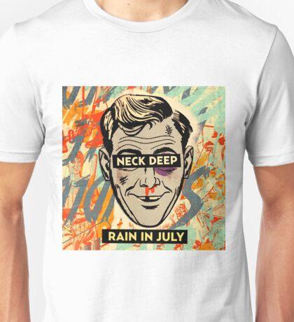 neck deep rain in juli 2016 Unisex T-Shirt