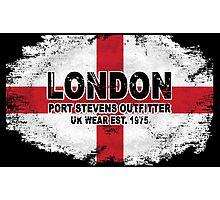 London - England vintage flag Photographic Print