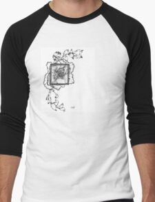 Wild flora framed 2.0 Men's Baseball ¾ T-Shirt