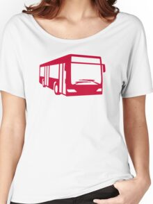 Red bus Women's Relaxed Fit T-Shirt