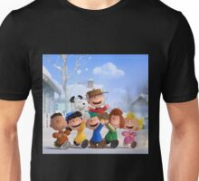 the peanuts charlie brown and friends wulan Unisex T-Shirt