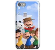 the peanuts charlie brown and friends wulan iPhone Case/Skin