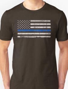Blue Lives Matter Police Support Unisex T-Shirt