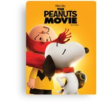 the peanuts charlie brown the movie wulan Canvas Print