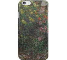 Claude Monet - Ladies in Flowers ,Impressionism iPhone Case/Skin