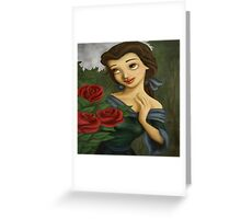 Beauty Rose Greeting Card