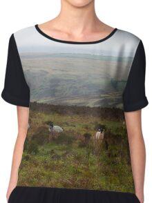 Ewe Looking At Us? Women's Chiffon Top