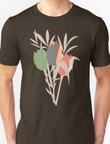 Spring flower pattern, tulips and lilies, 007 T-Shirt