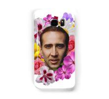 Nicolas Cage - Floral Samsung Galaxy Case/Skin