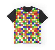 Puzzle Mosaic Graphic T-Shirt