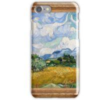 Vincent Van Gogh - Wheat Field with Cypresses, Impressionism. Van Gogh iPhone Case/Skin
