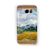 Vincent Van Gogh - Wheat Field with Cypresses, Impressionism. Van Gogh Samsung Galaxy Case/Skin