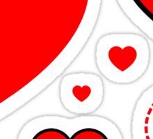 Be My Valentine Have My Heart Sticker