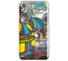 Graffiti birds iPhone Case/Skin