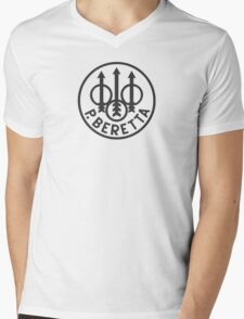 Beretta Firearms Mens V-Neck T-Shirt
