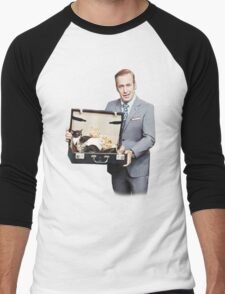 Saul Goodman's Cat Box Men's Baseball ¾ T-Shirt