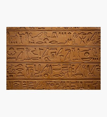 hieroglyphics  Photographic Print