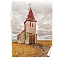 Church at Hellnar Poster