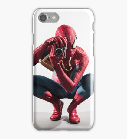 Spider Man Photograph iPhone Case/Skin