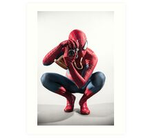 Spider Man Photograph Art Print