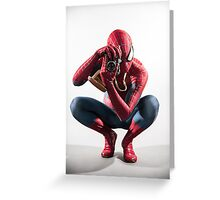 Spider Man Photograph Greeting Card