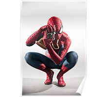 Spider Man Photograph Poster
