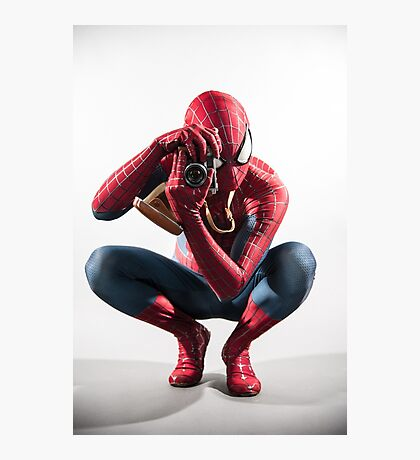 Spider Man Photograph Photographic Print