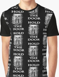 Hold The Door (white) Graphic T-Shirt