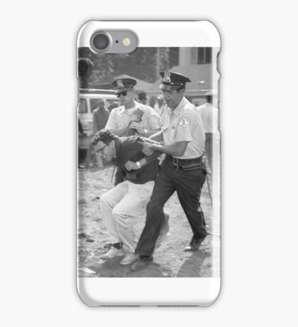 Bernie Sanders Chicago Protest Shirt iPhone Case/Skin