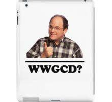 What Would George Costanza Do? iPad Case/Skin