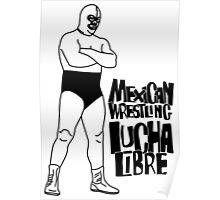 mexican wrestling lucha libre10 Poster